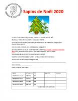 20201106 Sapins de Noël 2020 – mairie